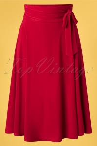 Vintage Chic 33443 Swingskirt Red Ribbon 02062020 003 W