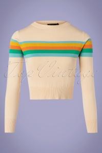 Vixen 33001 70s McKanzie Rainbow Pullover 11122019 006 W