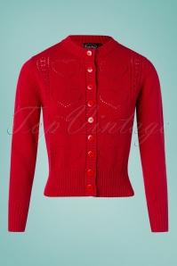 Vixen 32958 50s Regina Knitted Cardigan 11122019 001 W