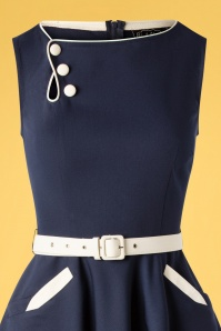 Vixen 32980 Swingdress Navy Blue Skate 11182019 002V