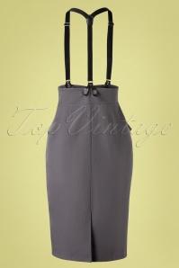 Vixen 32996 Pencilskirt Grey Gina 11192019 009 W