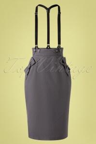 Vixen 32996 Pencilskirt Grey Gina 11192019 008 W