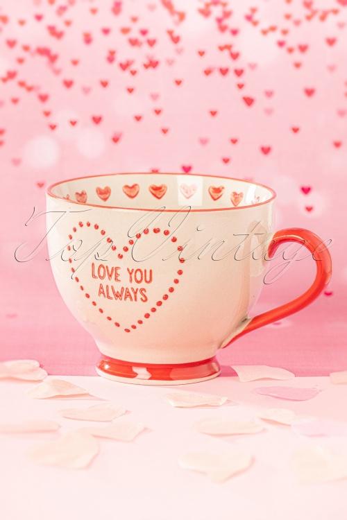 Sass and Belle 33481 Love Heart Mug 02112020 007W