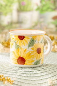 Sass & Belle 60s Sunflower Mug