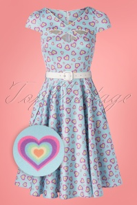 Vixen 32987 Swingdress Unreal Blue Hearts Rainbow 11142019 008Z