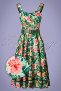 Vixen 33023 SwingDress Tiki Flora 20 005 Z