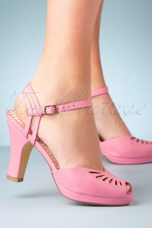 Bait Footwear 33465 Heels Pink Peeptoe 200210 005W