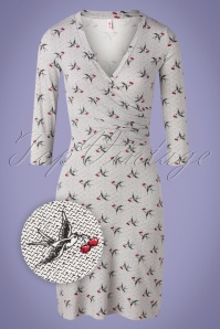 Blutsgeschwister 31888 Swingdress Pfadfinder Grey Birds 20200210 004 Z
