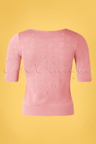 Blutsgeschwister 31935 Pully Roundneck Pink Hearts 10022020 007W