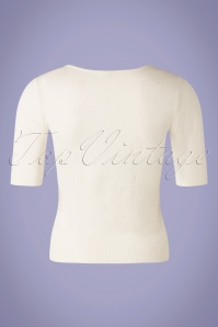 Blutsgeschwister 31933 Pully Roundneck White Hearts 10022020 008W