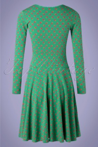 Blutsgeschwister 31889 Swingdress Green Fruit 20200210 009 W