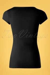 Blutsgeschwister 31916 Tshirt Black Rose 10022020 007W