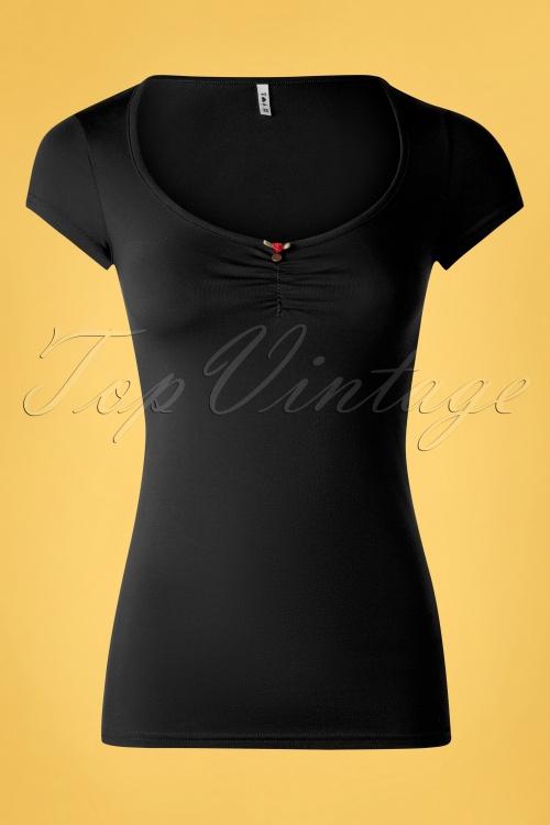 Blutsgeschwister 31916 Tshirt Black Rose 10022020 003W