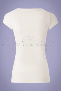 Blutsgeschwister 31920 Tshirt White Rose 10022020 005W