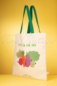 Sass&Belle 33479 Live Life On The Veg Tote Bag 200210 021W