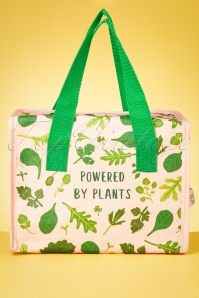 Sass&Belle 33478 Powered By Plants Pantpower Vegan Groente Leafs Lunchbag 200210 017W