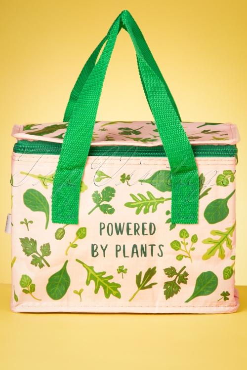 Sass&Belle 33478 Powered By Plants Pantpower Vegan Groente Leafs Lunchbag 200210 005W