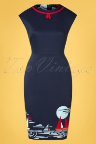 Banned 33084 Summer Sail Pencil Dress 11072019 002W