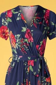 Vintage Chic 33484 Jumpsuit Floral 20 003V