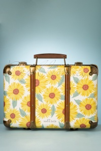 Sass&Belle 33475 Suitcase Yellow Green SunFlowers Bag 200210 015W