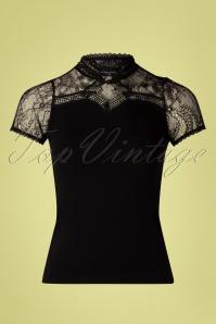 Vive Maria 32245 Tshirt Black Summer Lace 20200212 002W