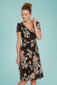 ViveMaria 32234 Hawai Pencil Dress Black 20200211 020LW