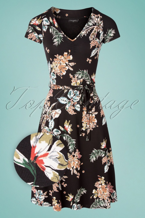 Vive Maria 32234 Alinedress Black Hawai Floral 20200212 001Z