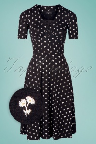 Vive Maria 32233 Alinedress Black Marguerite Floral 20200212 004Z