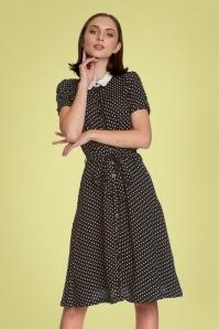 ViveMaria 32235 Italian Dress in Black 20200211 020L
