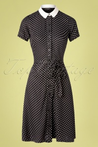 Vive Maria 40s Italian Dress in Black