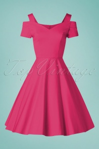 Bunny 33732 Swingdress Helen Hot Pink 20200213 002W