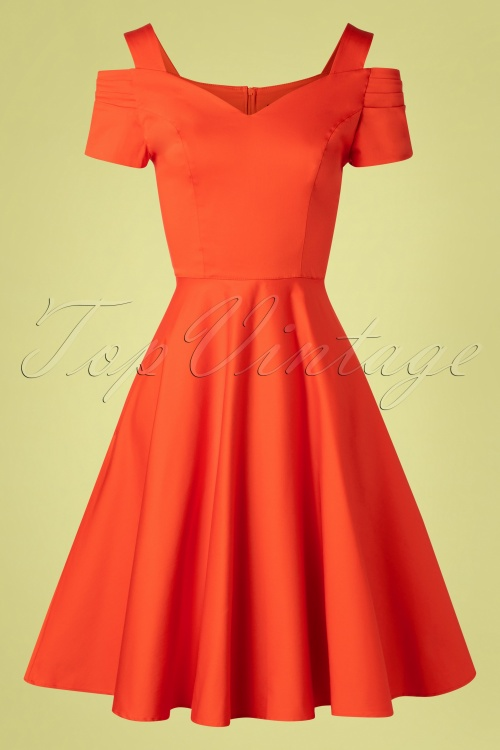 Bunny 33733 Swingdress Helen Orange 20200213 006W