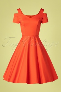 Bunny 33733 Swingdress Helen Orange 20200213 002W