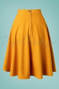 Bunny 33738 Swingskirt Amelie 50s Yellow 20200213 011W