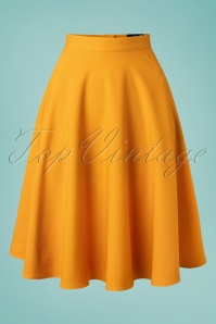 Bunny 33738 Swingskirt Amelie 50s Yellow 20200213 003W