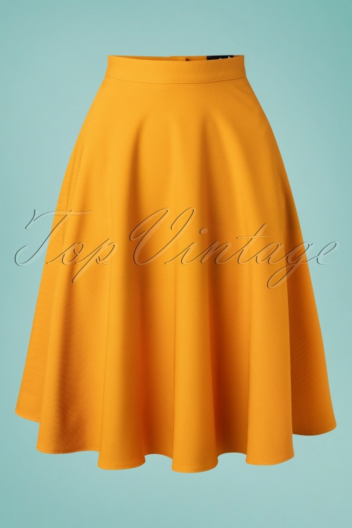 Bunny 33738 Swingskirt Amelie 50s Yellow 20200213 003W