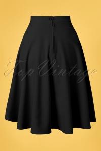 Bunny 33739 Swingskirt Amelie 50s Black 20200213 011W