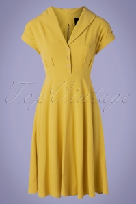 Bunny 33734 Swingdress Sahara Yellow 20200213 002W