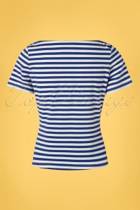 Banned 33179 Stripes Top Blue 11042019 0006W