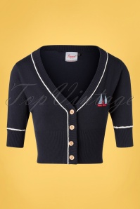 Banned 33083 Summer Sail Cardi Navy 11062019 002W