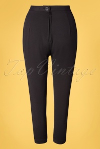 Bunny 33740 Trousers Black Amelie 20200214 007W