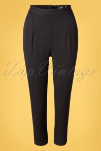 Bunny 33740 Trousers Black Amelie 20200214 003W