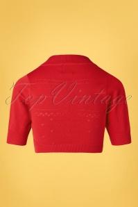 Banned 32450 Bolero Red 50s 20200214 009W