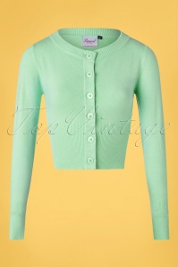 Banned 32453 Cardigan Mint Dolly Buttondown 20200214 003W