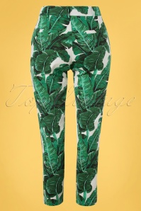 Banned 33127 Tropical Leaves Trousers 11112019 007W W