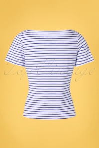 Banned 33160 Italy Sailor Striped Top Red 20191101 008 W