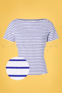 Banned 33160 Italy Sailor Striped Top Red 20191101 002 Z