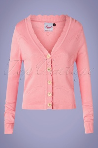 Banned 33166 June Cardigan in Pink 20191104 003 W