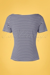 Banned 33178 Sally Stripe Navy 20 006W