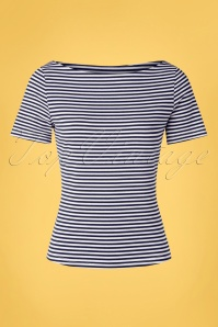 Banned 33178 Sally Stripe Navy 20 002W